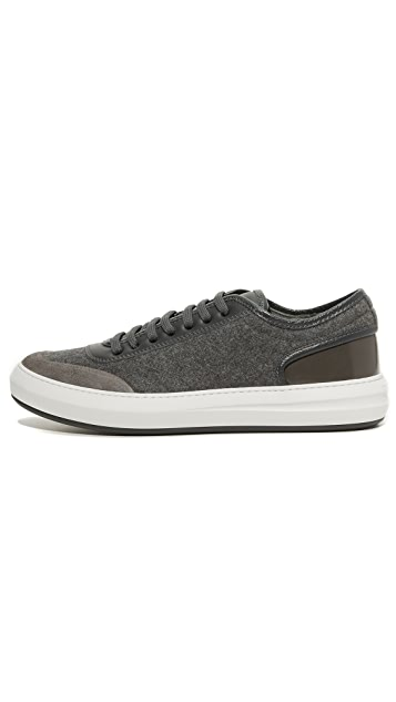 Salvatore Ferragamo Glory Felt Sneakers