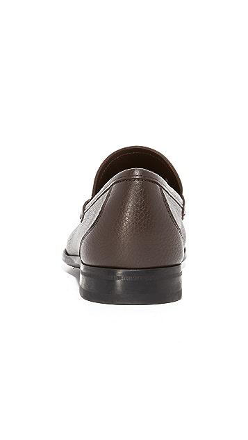 Salvatore Ferragamo Grandioso Bit Loafers