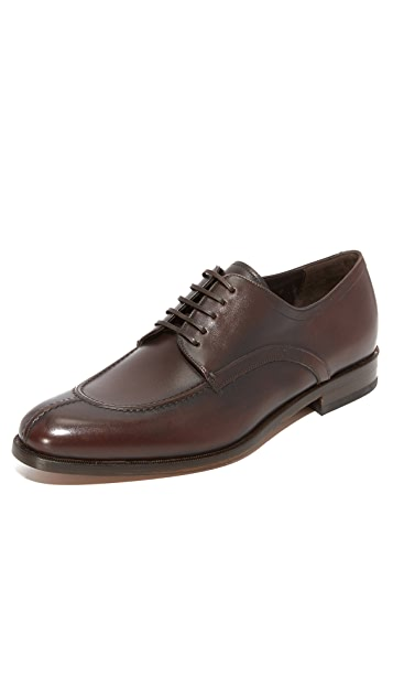 Salvatore Ferragamo Gustav Split Toe Lace Up Shoes