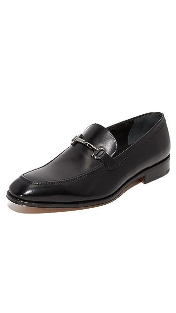 Salvatore Ferragamo Fenice Apron Toe Bit Loafers