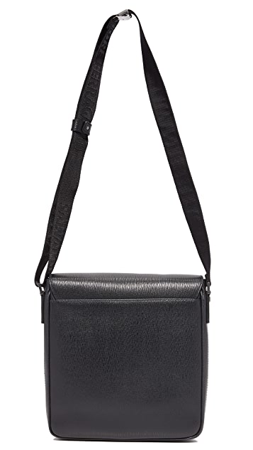 Salvatore Ferragamo Revival Leather Messenger Bag