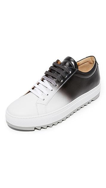 Salvatore Ferragamo Lan Ombre Leather Sneakers   EAST DANE a6fd1793c2