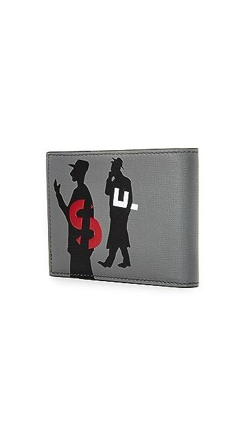 Salvatore Ferragamo Passerby Leather Wallet