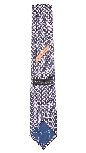 Salvatore Ferragamo Lion Tie