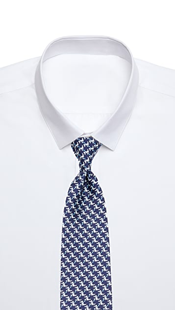 Salvatore Ferragamo Dragon Tie