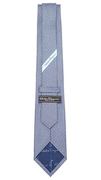 Salvatore Ferragamo Gancio Jacquard Tie