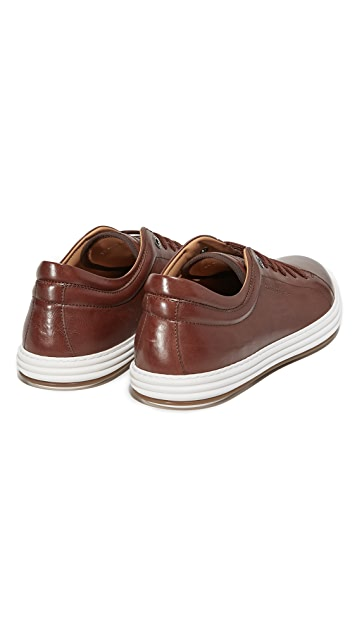 Salvatore Ferragamo Newport Leather Sneakers