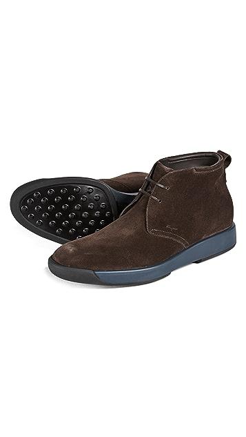 Salvatore Ferragamo Dorris Leather Boots