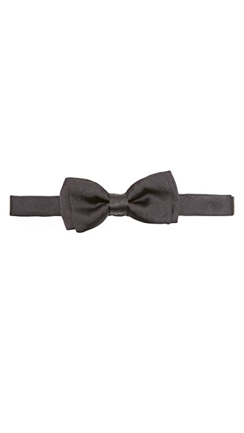 Salvatore Ferragamo Fixed Bow Tie