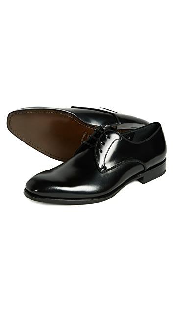 Salvatore Ferragamo Charles Lace Up Shoes