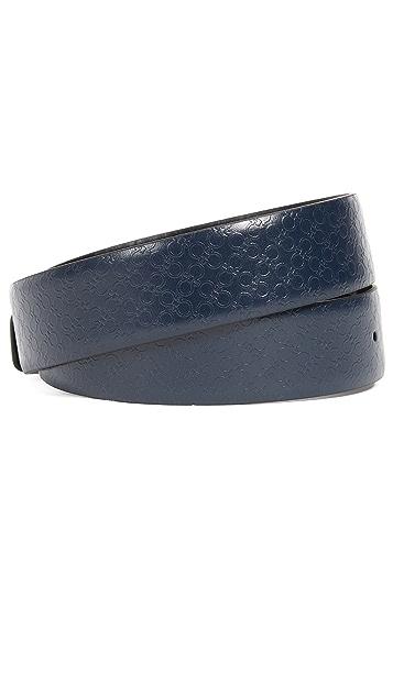 Salvatore Ferragamo Double Gancio Adjustable Reversible Belt