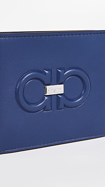 Salvatore Ferragamo Firenze Logo Billfold Wallet