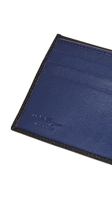 Salvatore Ferragamo Revival Gancini Billfold Wallet