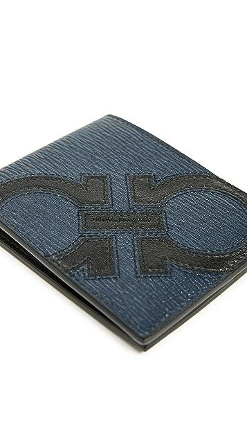 Salvatore Ferragamo Revival Maxy Billfold Wallet