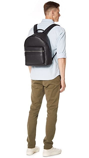 Salvatore Ferragamo Firenze Studded Leather Backpack