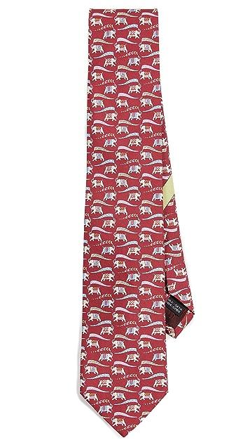 Salvatore Ferragamo Elephant Tie