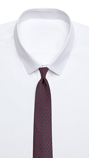 Salvatore Ferragamo Shadow Giraffe Tie