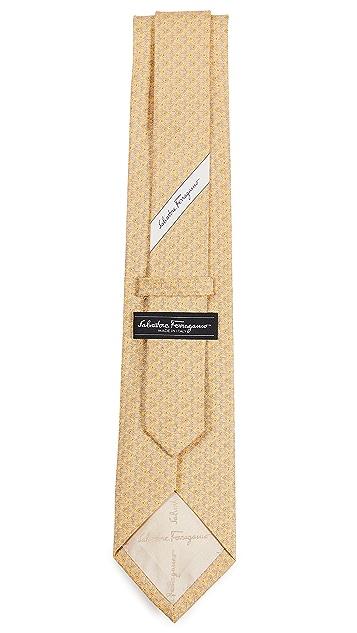 Salvatore Ferragamo Shadow Turtle Tie