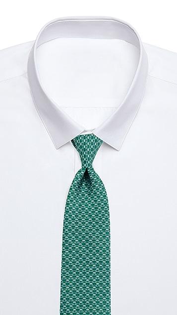 Salvatore Ferragamo Interlocking Gancini Tie
