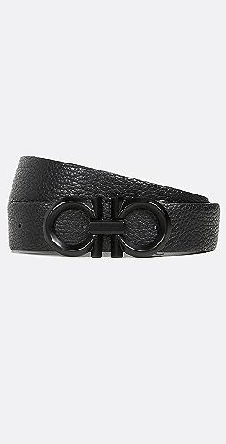 Salvatore Ferragamo - Double Gancio Reversible Belt
