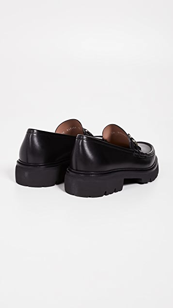 Salvatore Ferragamo Bleecker Lug Sole Gancini Loafers