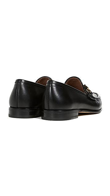 Salvatore Ferragamo Bond Gancini Loafers