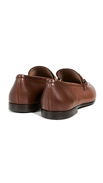 Salvatore Ferragamo Bonn Side Gancini Loafers
