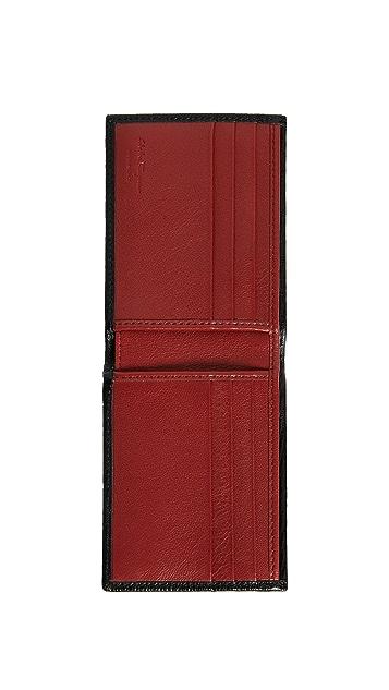 Salvatore Ferragamo Revival Contrast Interior Bifold Wallet