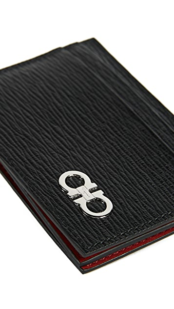 Salvatore Ferragamo Revival Card Case