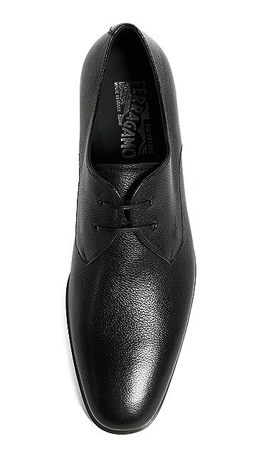 Salvatore Ferragamo Fortunato Lace Up Shoes