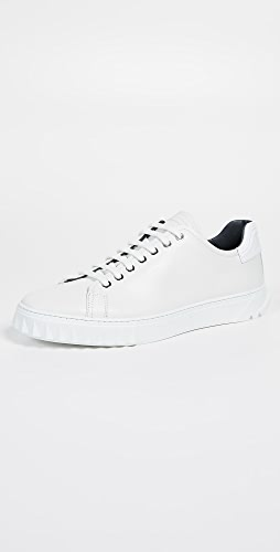 Salvatore Ferragamo - Cube Lace Up Sneakers