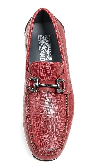 Salvatore Ferragamo Parigi Bit Driver Shoes