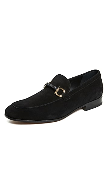 Salvatore Ferragamo Cross Loafers