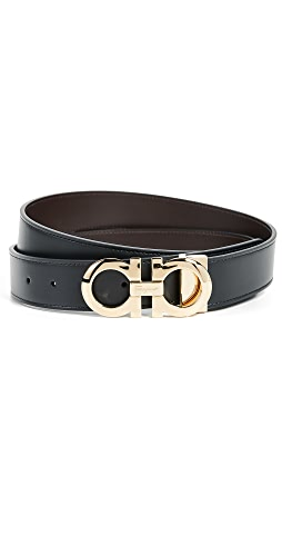 Salvatore Ferragamo - Reversible Adjustable Belt