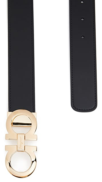 Salvatore Ferragamo Reversible Adjustable Belt