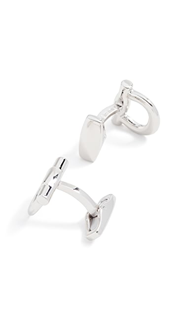 Salvatore Ferragamo Gancini Flip Cuff Links