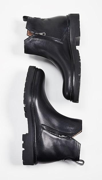 Salvatore Ferragamo Birmingham Lug Sole Chelsea Boots