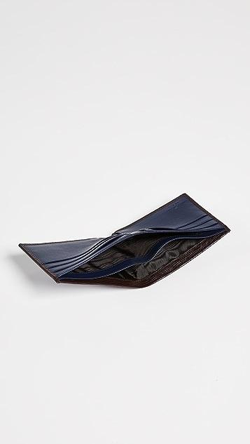 Salvatore Ferragamo US Bifold with Contrast Interior