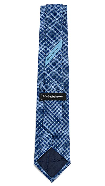 Salvatore Ferragamo Interlocking Gancini Tie