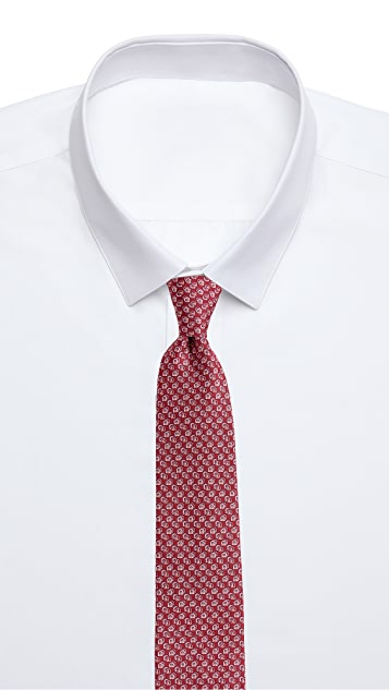 Salvatore Ferragamo Gancini Shadow Tie