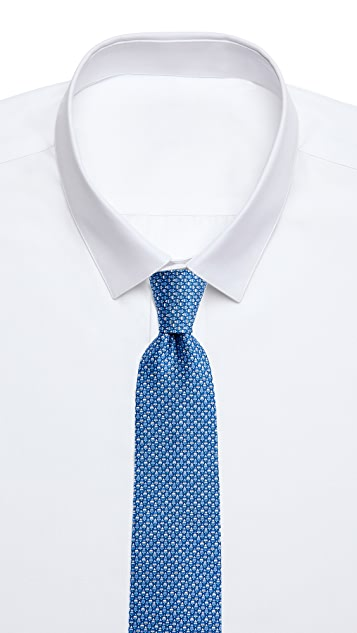 Salvatore Ferragamo Tree Print Tie