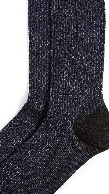 Salvatore Ferragamo Full Gancio Socks
