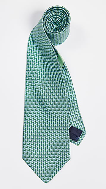 Salvatore Ferragamo Bird Tie