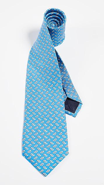 Salvatore Ferragamo Dog Tie