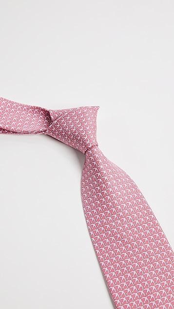 Salvatore Ferragamo Flying Bird Silk Tie