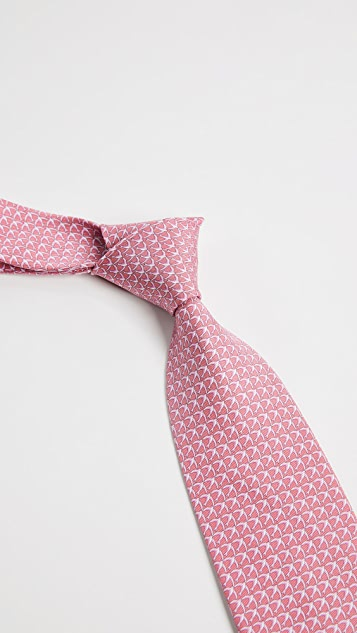Salvatore Ferragamo Flying Bird Silk Tie