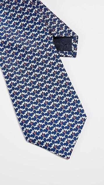 Salvatore Ferragamo Fox Tie