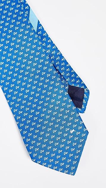 Salvatore Ferragamo Turtle & Hare Tie