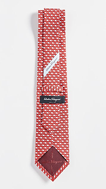 Salvatore Ferragamo Pig Tie