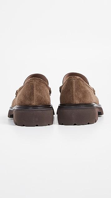 Salvatore Ferragamo Bleecker Lug Sole Loafers
